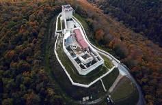 Medvedgrad - pogled iz zraka