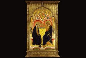 Krunjenje Bogorodice, The Frick Collection, 1358