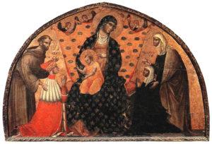 Luneta dužda Francesca Dandola,Santa Maria Gloriosa dei Frari, Venecija, 1339