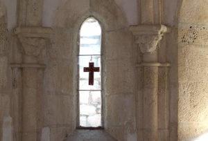 Medvedgrad - inside of chapel