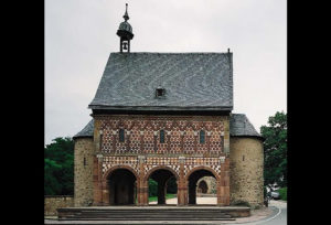 Doorway from the 9th century in the Lorsch Abbey