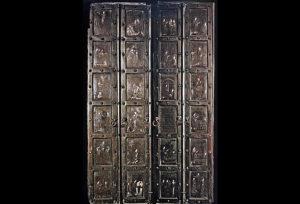 Bronze door, Monte Sant Angelo, Monte Gargano
