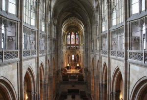 Saint Vitus' Cathedral, interior