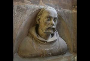 Peter Parler, Self-Portrait bust, the Cathedral of St. Vitus triforium, Prague