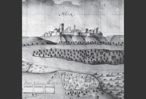 Ilok - city view from the 1697
