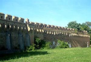 Ilok – town's walls
