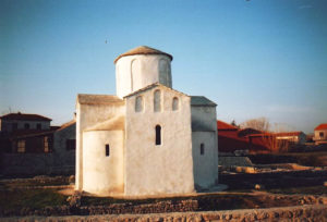 Church of Holy Cross in Nin