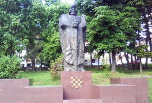 Vinko Bagarić, Statue of King Tomislav in Tomislavgrad