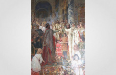 Engagement of Croatian King Zvonimir