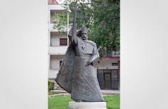 Statue of King Zvonimir in Knin