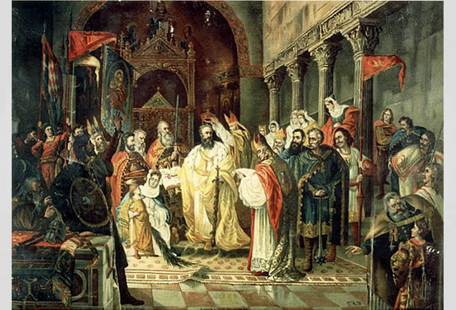 The Crowning of King Zvonimir