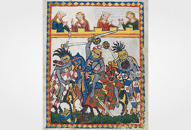 Codex Manesse, between 1305 and 1315
