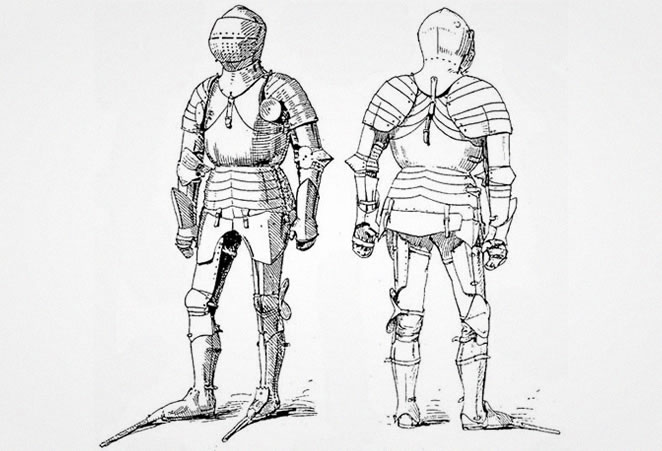 Armour French style